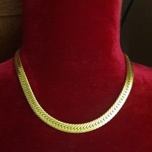 Authentic Vintage Givenchy Gold Necklace